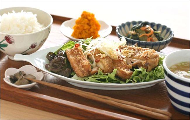 【栗原はるみ】揚げ鶏のねぎソース&コールスローサラダのレシピや作り方!