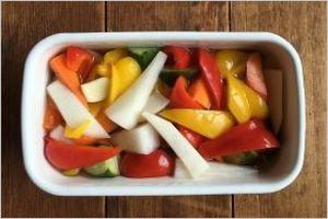 野菜酢漬けの作り方