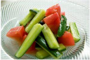 甘酢サラダの作り方