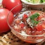 トマト ドレッシング