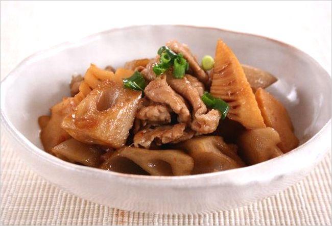 栗原はるみの豚肉×れんこんレシピ3つ!食感も最高♩